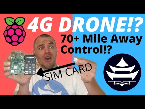 MAKE A 4G LTE RASPBERRY PI DRONE WITH LIMITLESS RANGE | The Ultimate BVLOS Guide