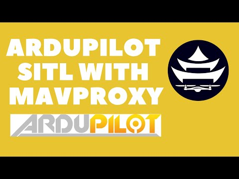 Control a Simulated Drone SITL with ArduPilot using MAVProxy