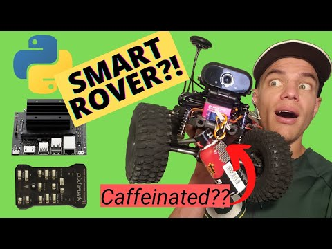 Jetson Nano Smart Rover!? From Build to Coding In 2 Hours