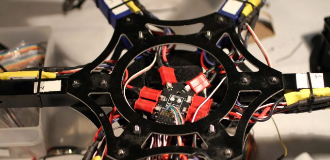 Flight Controller On DIY Drone