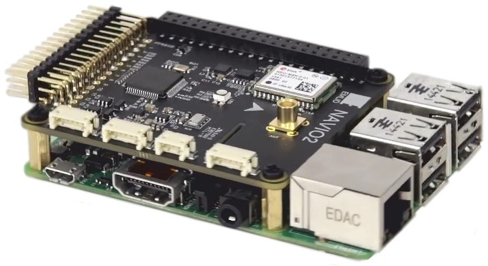 Navio2 Shield for Raspberry Pi