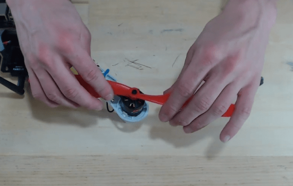 Installing Props on Motor