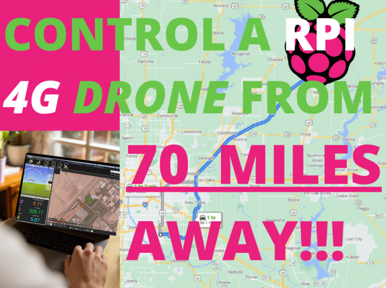 How To Make A DIY 4G Drone For BVLOS Control